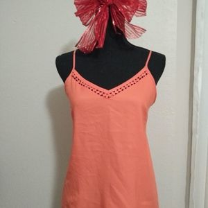 pink / salmon tank top. barely used !